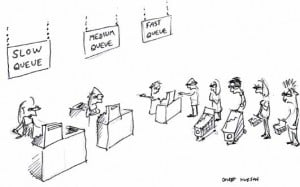 Law-of-Queues